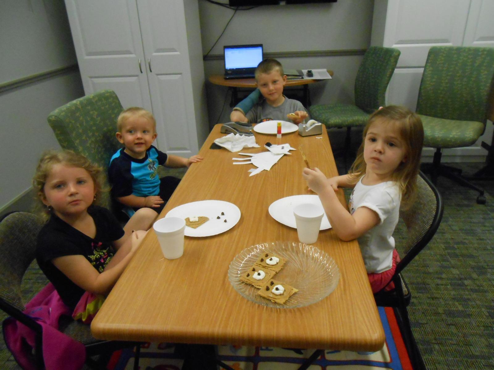 JB 3-18-15 children snack time