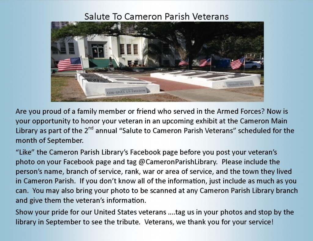Salute Veterans