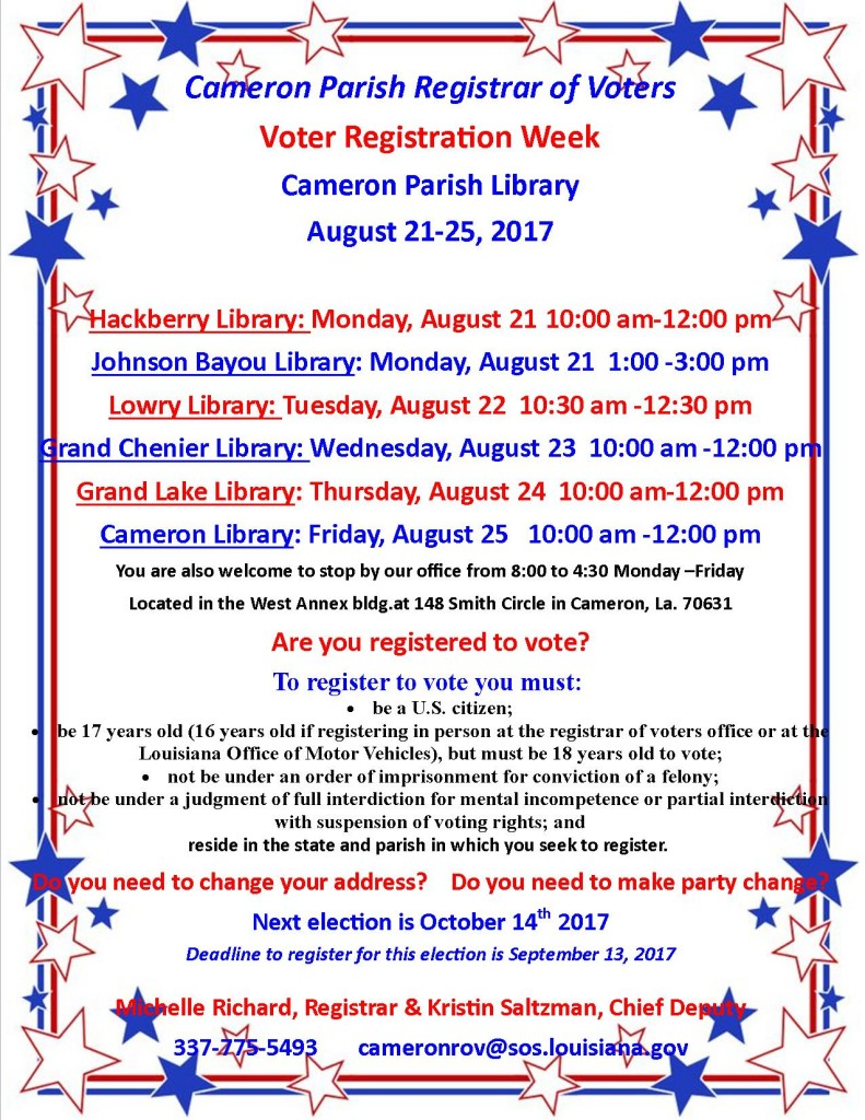 Voter Registration Week 8-21-24-17